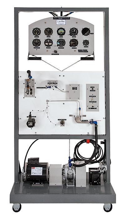 조종석 계측 장치 교육장비