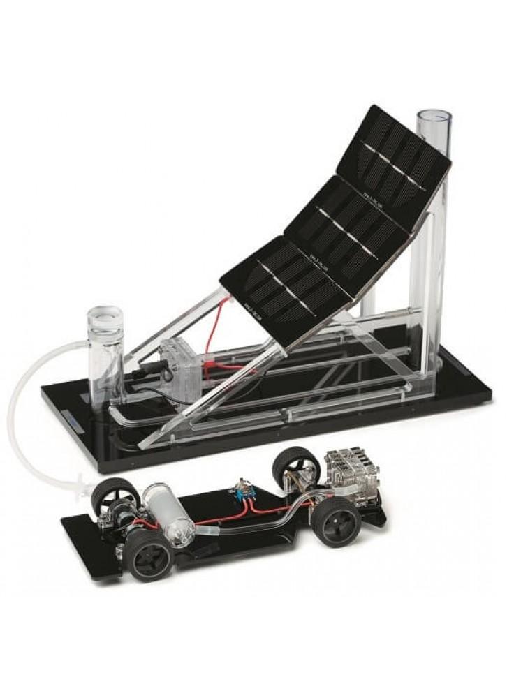 연료 전지 자동차 및 주유소 데모 세트