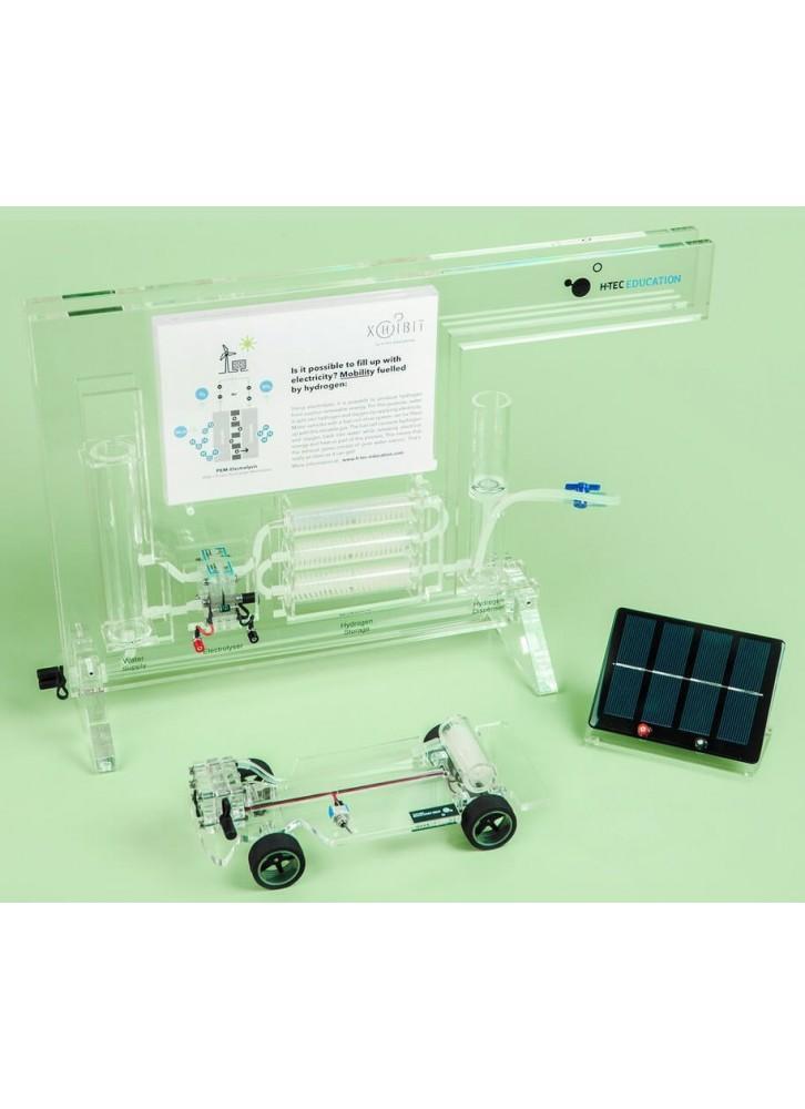 태양열 수소 자동차 및 주유소 데모 세트