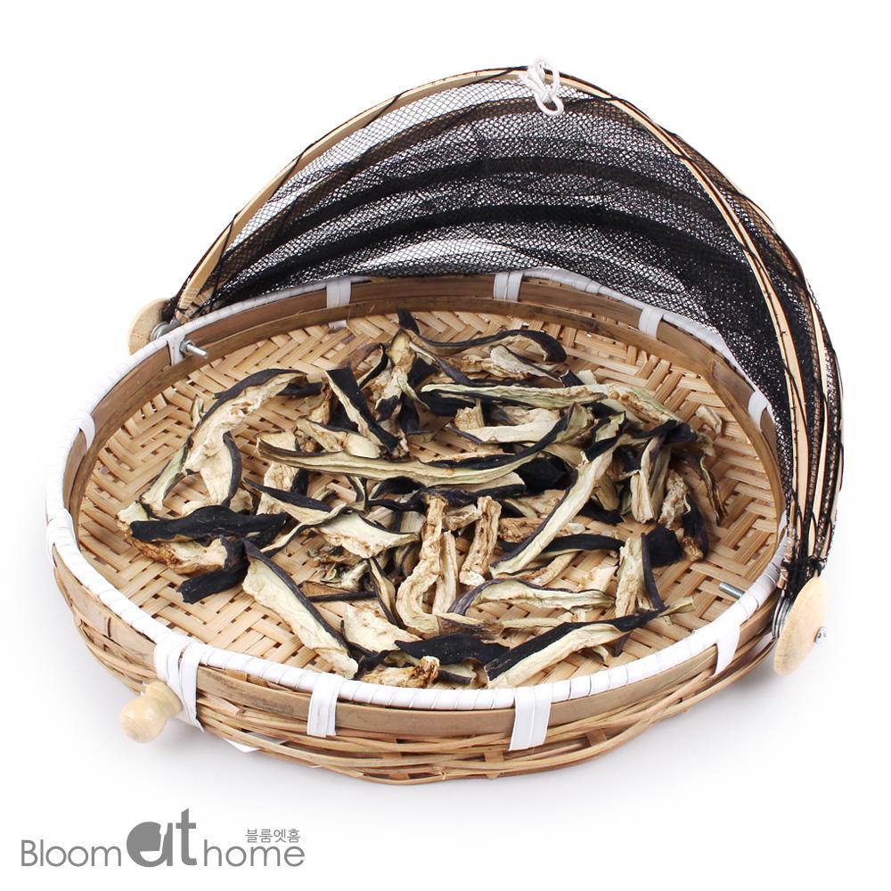 대나무 덮게 채반 (대)