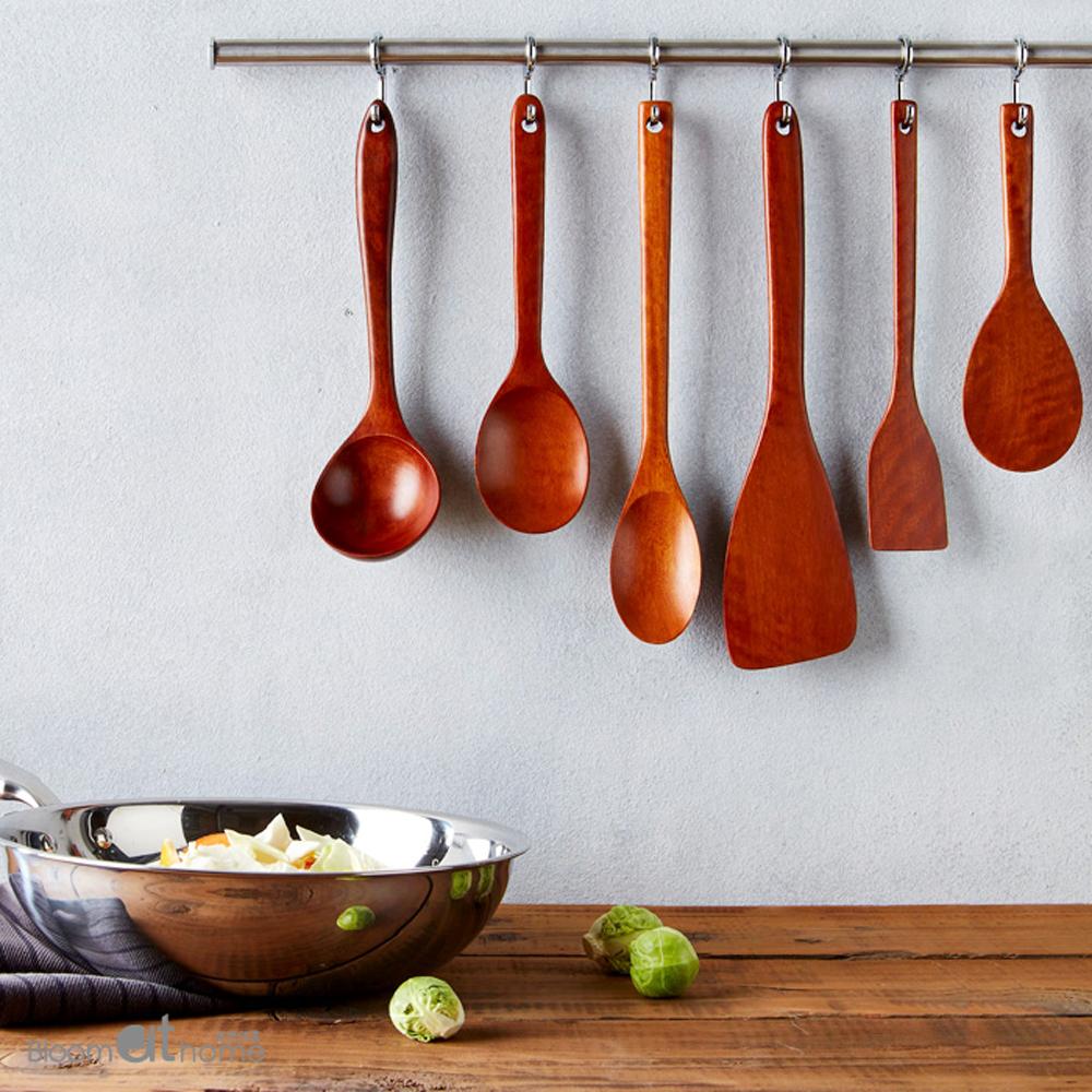 감나무 옻칠 조리도구 6종