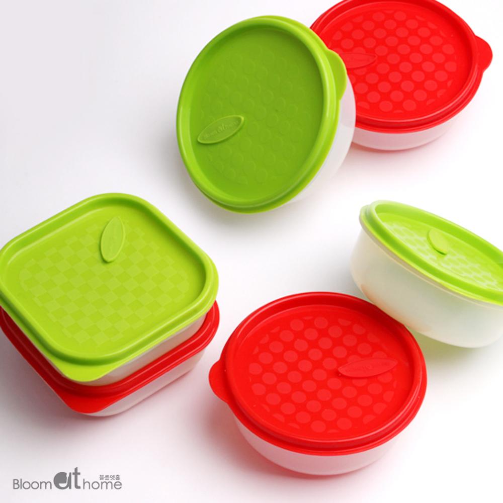 실리콘 냉동밥용기 6종