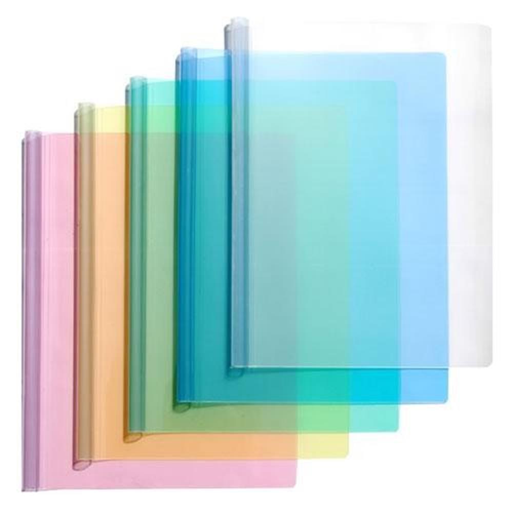 간단한 보관 투명 쫄대 화일 10개입 파일철 결재화일 클리어화일 문서파일