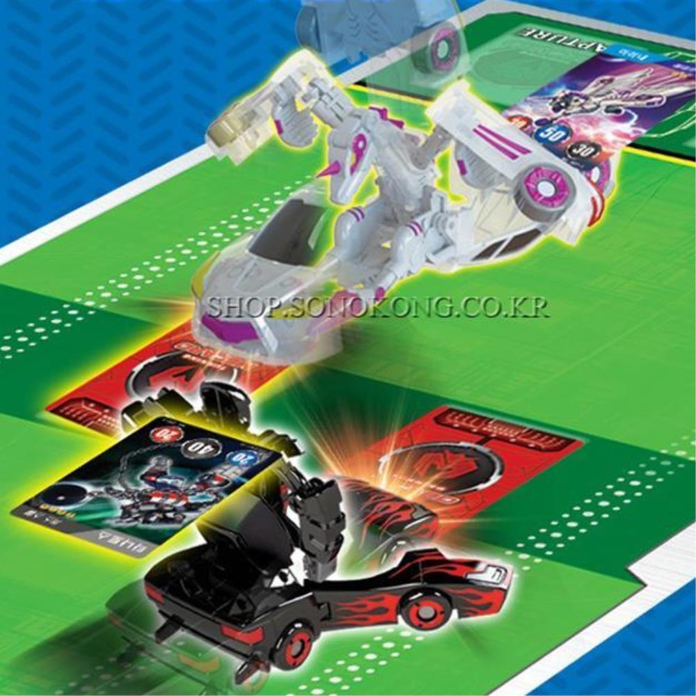 터닝메카드W 소라게 변신 택시  어린이선물 로봇장난감 로봇