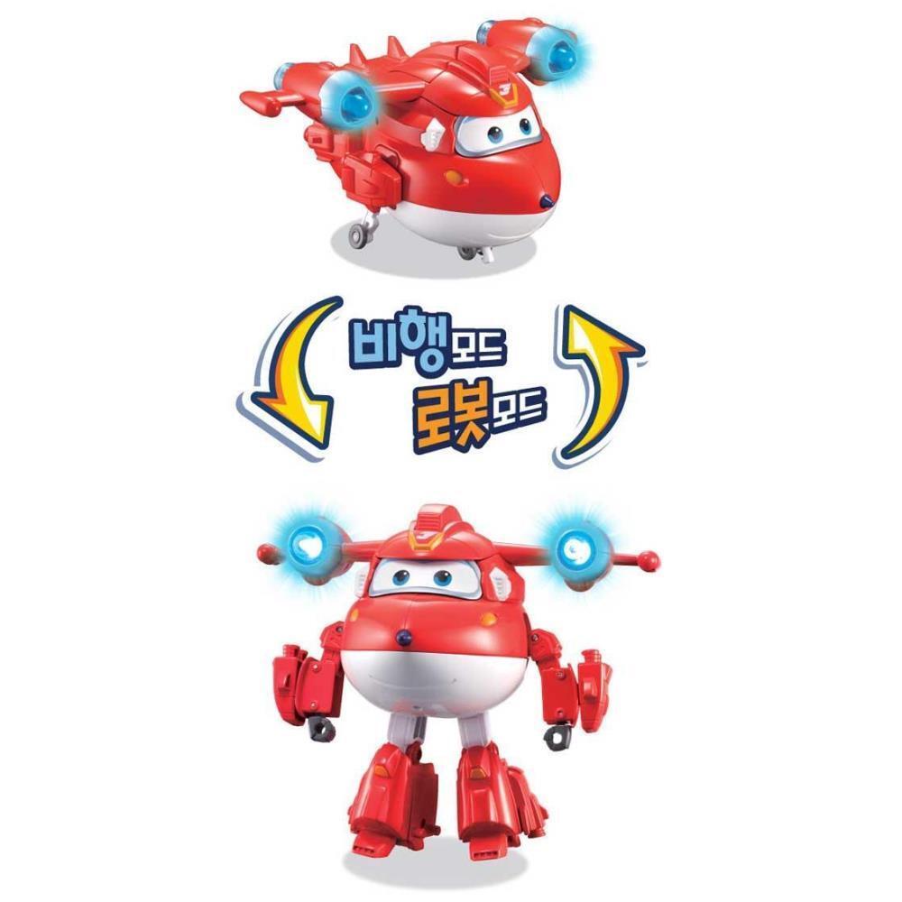 장난감 슈퍼윙스4 디럭스 슈퍼파워 시리즈 로봇 남자장난감 장난감선물