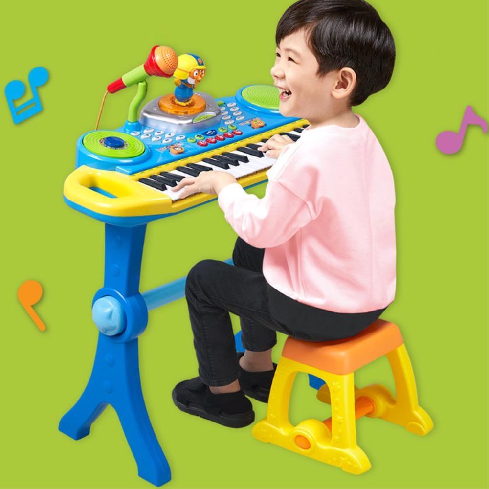 뽀로로  동요 악기연주 아기 피아노 신나는놀이 리듬악기