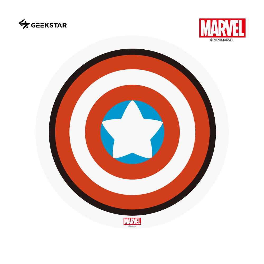MARVLE 마블 카와이 캡틴아메리카 마우스패드 MKSM-03 마블정품 이미지