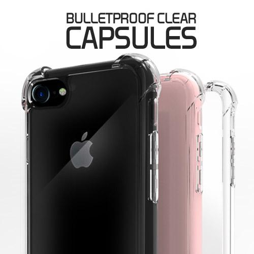 [방탄클리어캡슐젤리케이스] 아이폰SE(2020) 아이폰8 아이폰7