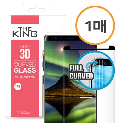 [더킹 3D템퍼드 글라스] 3D풀커버 강화유리 / 아이폰11프로 5.8 . 아이폰X . 아이폰XS