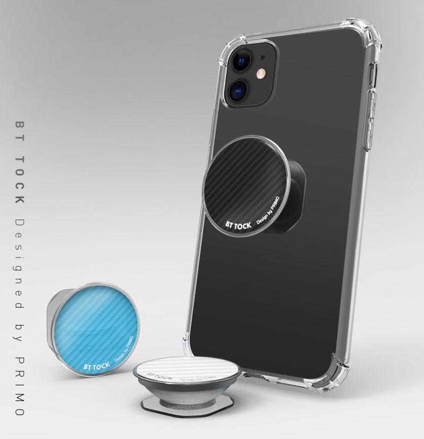[마그네틱 방탄톡] 이어폰수납기능 / 자석거치대 사용가능