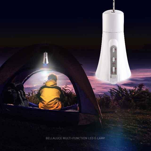 [벨라루체] 다기능 LED 랜턴 센서등, 전구, 생존 조명 eLamp 이미지