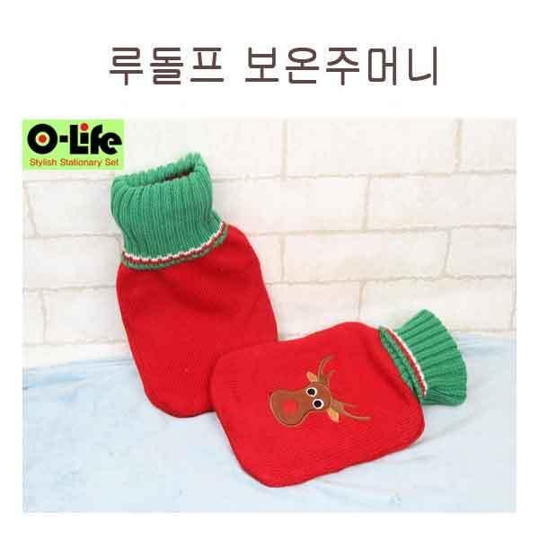 [O-life] 크리스마스 냉/온겸용찜질 주머니(루돌프) 이미지