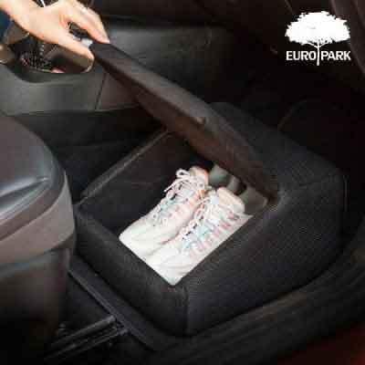 [유로파크] 차량용 발받침 신발보관함 이미지