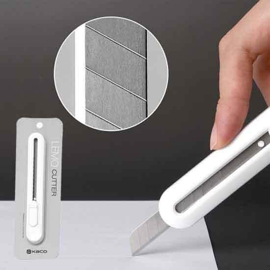 [샤오미] KACO 레모 사무용 스테인레스 커터칼 이미지