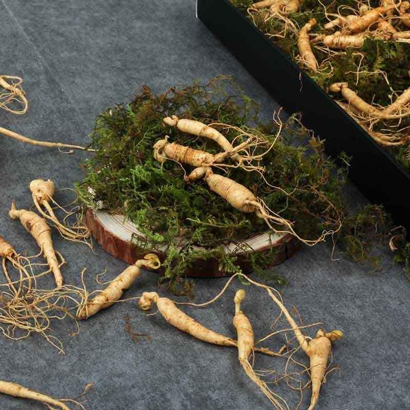 [선물포장] 편하게 먹는 강원도 토종 못난이 장뇌삼 산양산삼 90g [5년~6년근 50뿌리~90뿌리] 이미지