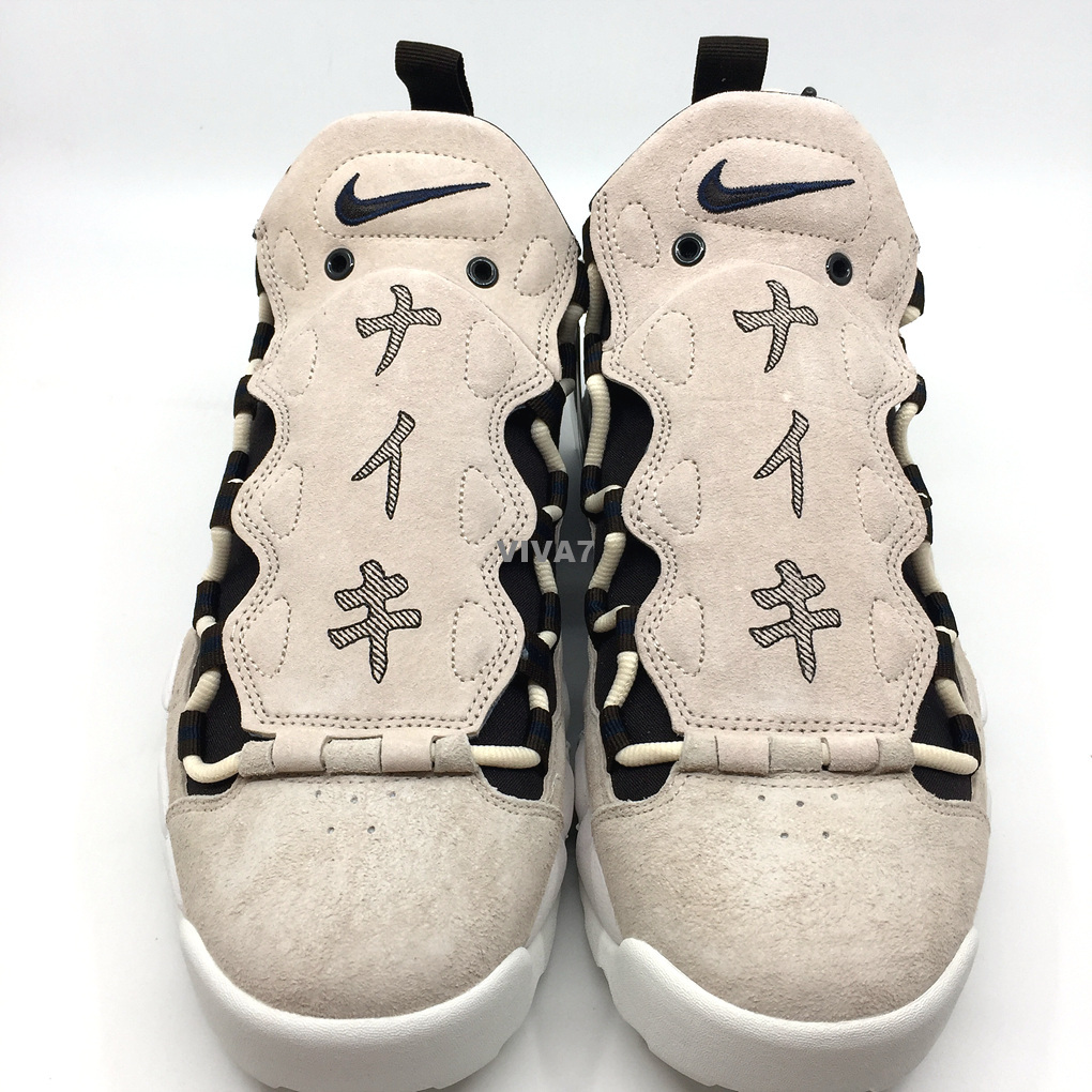15827ae1111 NIKE AIR MORE MONEY QS JAPANESE YEN AJ7383-800 GLOBAL CURRENCY PACK ...